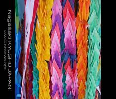Origami peace cranes by Lou-NihonWa