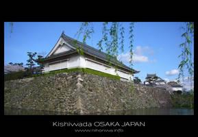 Kishiwada castle -1- by Lou-NihonWa