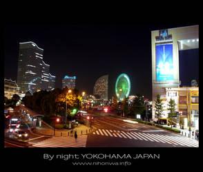 Yokohama by night -1- by Lou-NihonWa