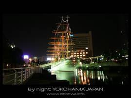 Yokohama by night -2- by Lou-NihonWa