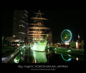 Yokohama by night -3- by Lou-NihonWa