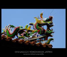 Chinese dragon by Lou-NihonWa