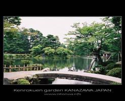 Kenrokuen garden -1- by Lou-NihonWa