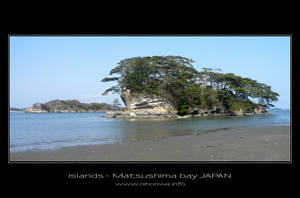 Islands of Matsushima bay by Lou-NihonWa
