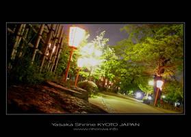 Night scenery at Yasaka -1- by Lou-NihonWa