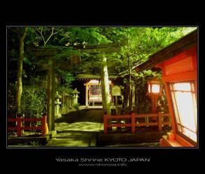Night scenery at Yasaka -3- by Lou-NihonWa