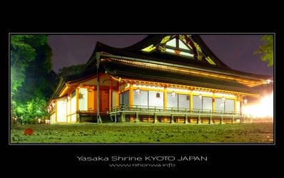 Night scenery at Yasaka -4- by Lou-NihonWa