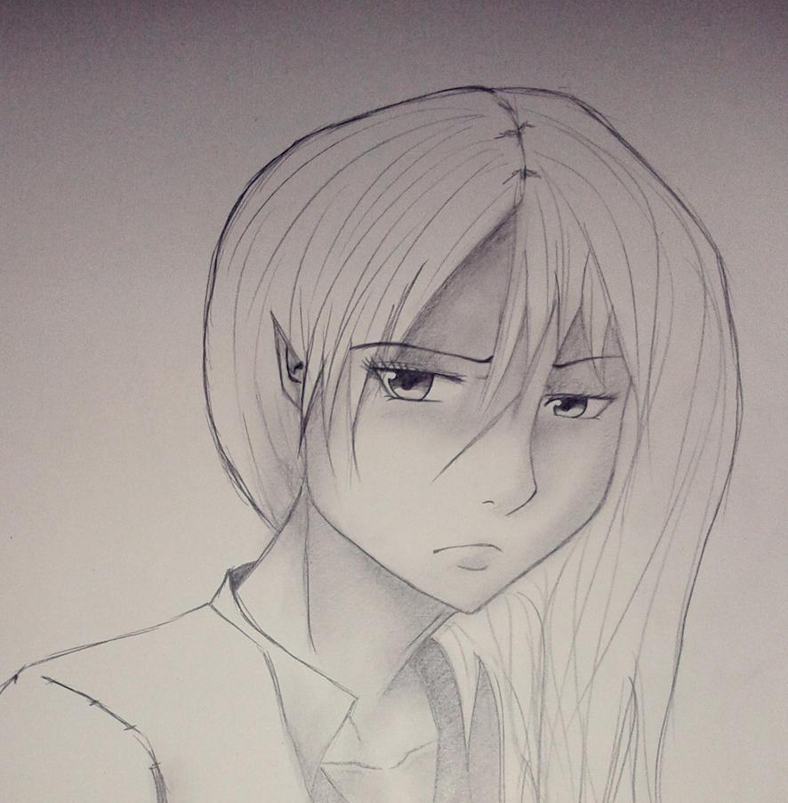 Anime Girl (Alice) by FynnS