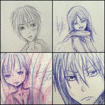 scribbles :D by FynnS