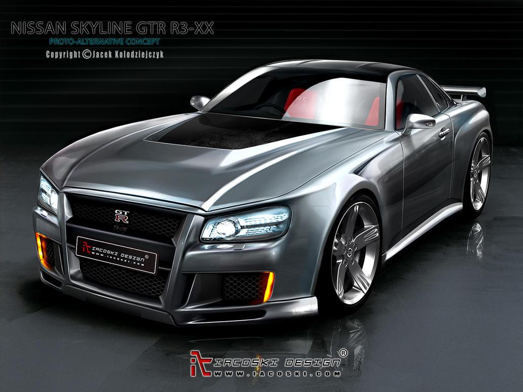 Gtr R35 Interior >> Nissan Skyline GTR Concept by iacoski on DeviantArt