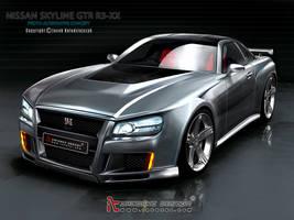 Nissan Skyline GTR Concept by iacoski