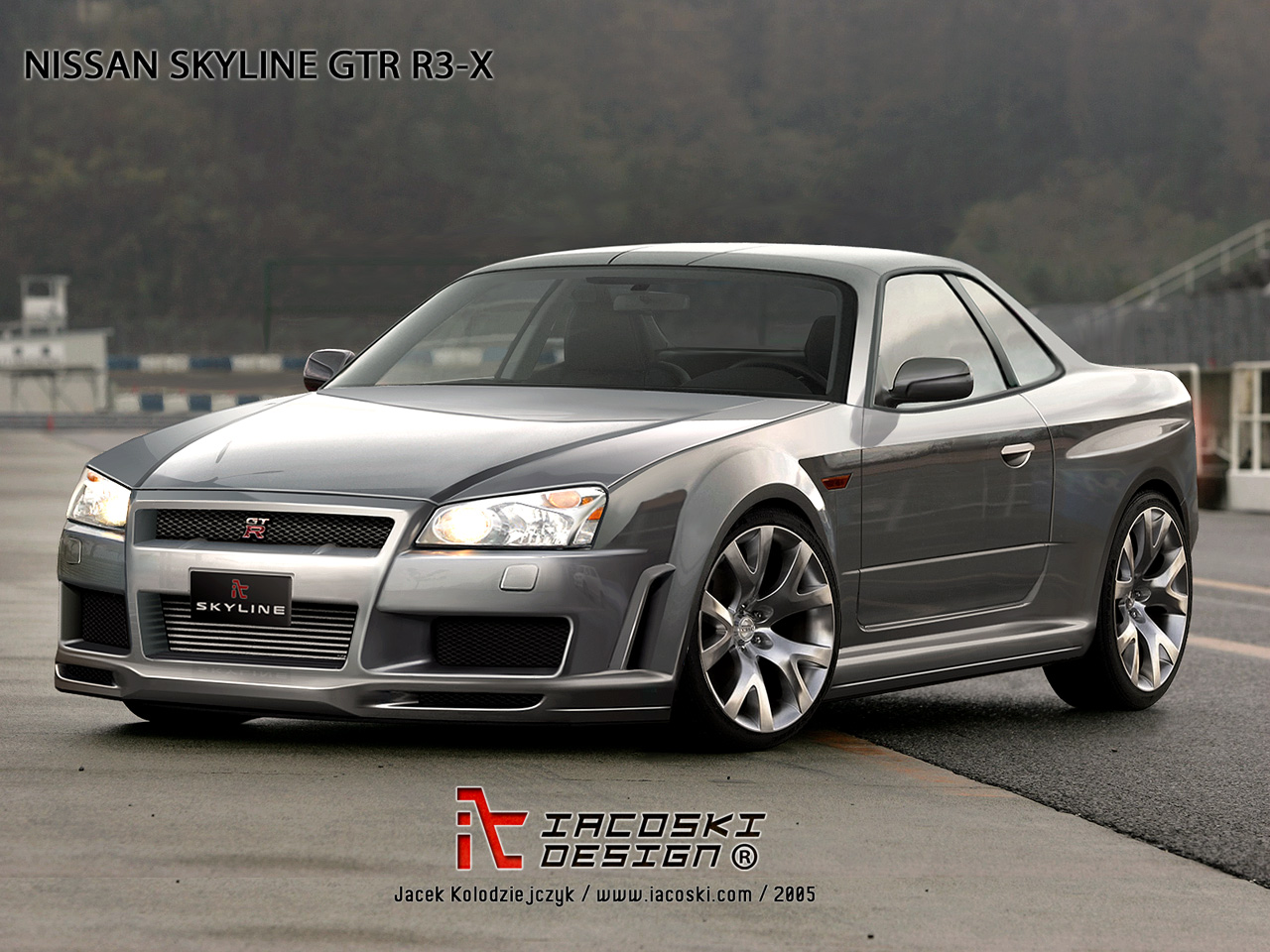 Nissan Skyline R3X Concept by iacoski