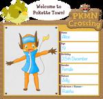 PKMN-Crossing app: Alice