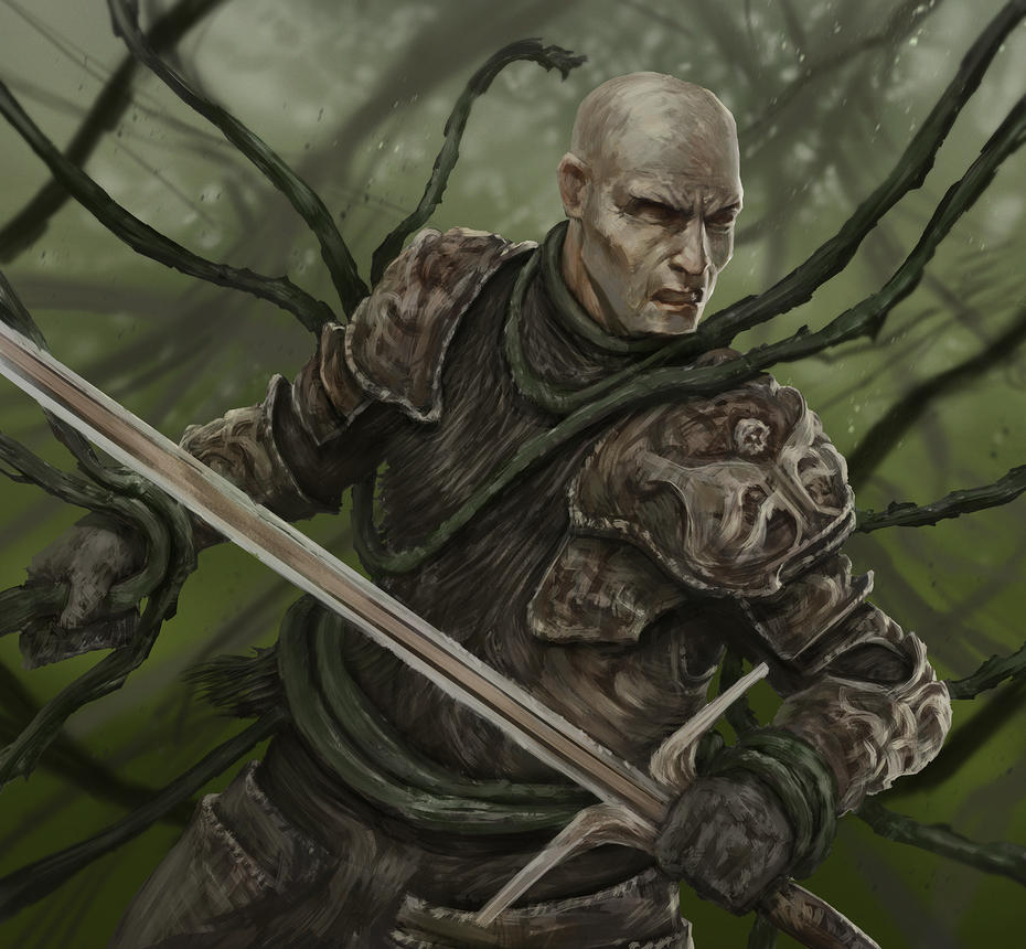 warrior by ikametreveli