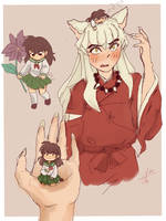 Pocket kagome~ by Nekoyinu