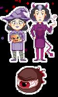 Very Spooky TF2 pixels