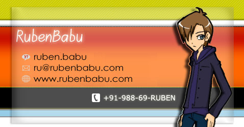 New ID and Contact Card by rubentheanswerman