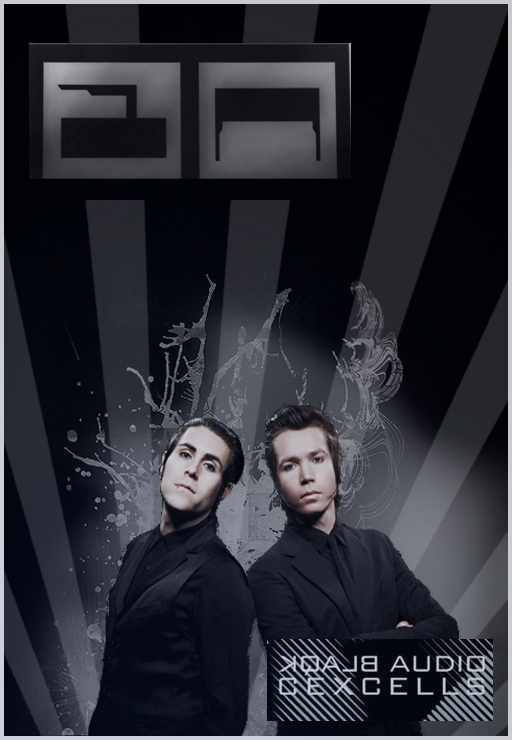 Blaqk Audio Poster by xXnicoleXx9