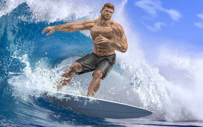 Sam and Surf 3 by lundqvist