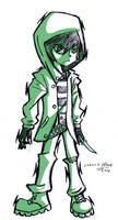 Evans New Design (Sketch) by FalloutCat