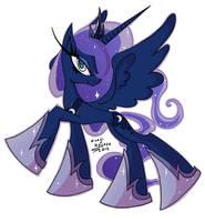 Princess Luna Sticker by FalloutCat
