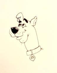 Scooby by HeatheryAmethyst