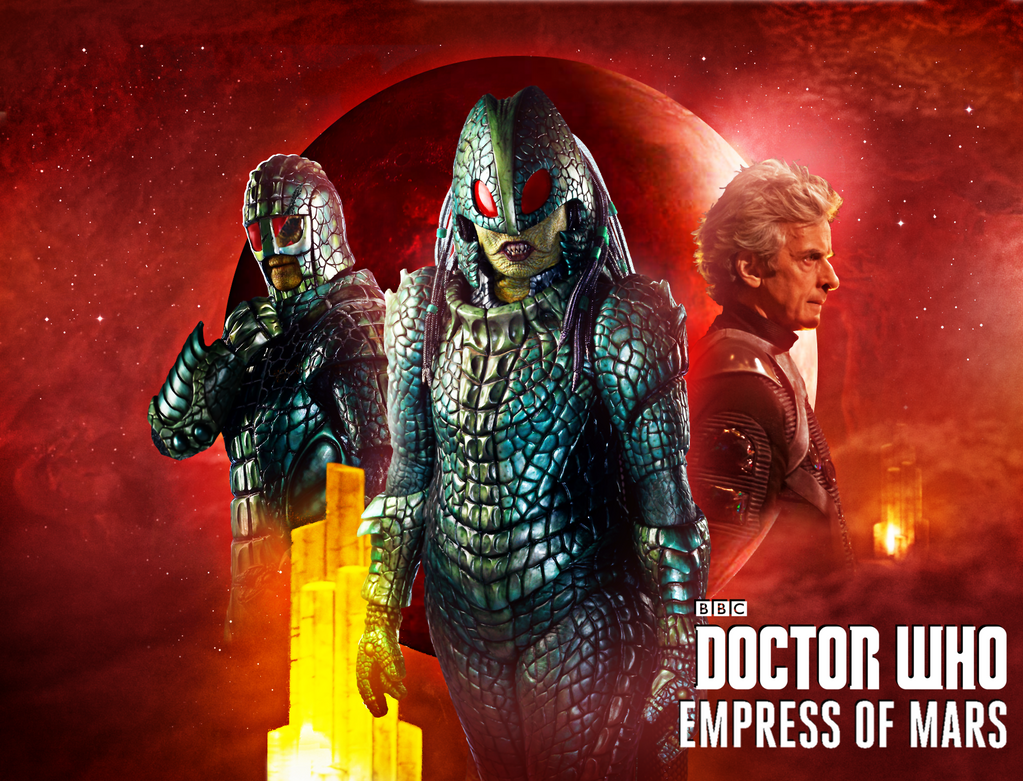Doctor Who: Empress of Mars by Esterath13