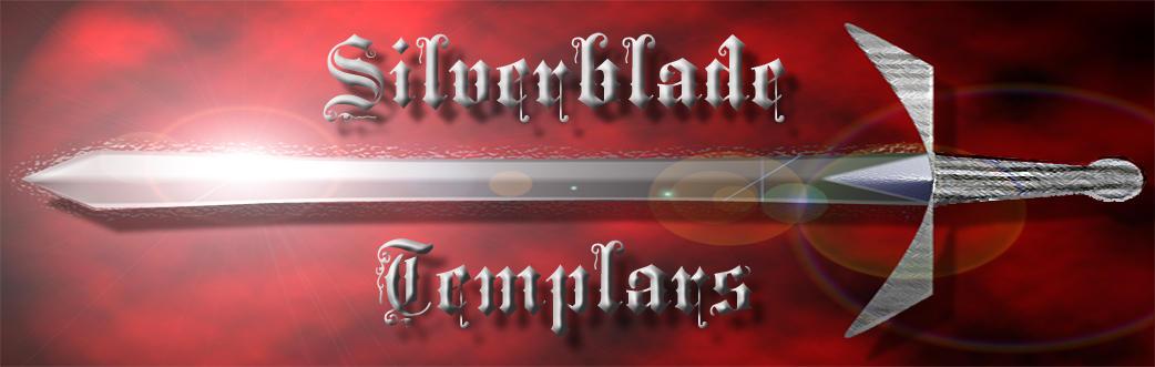 Silverblade Templars Banner by JetsterDajet