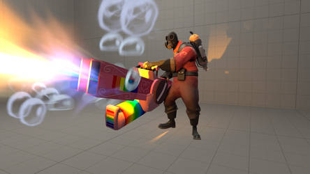 Double Rainbow Thrower for SFM - LINKS UPDATED