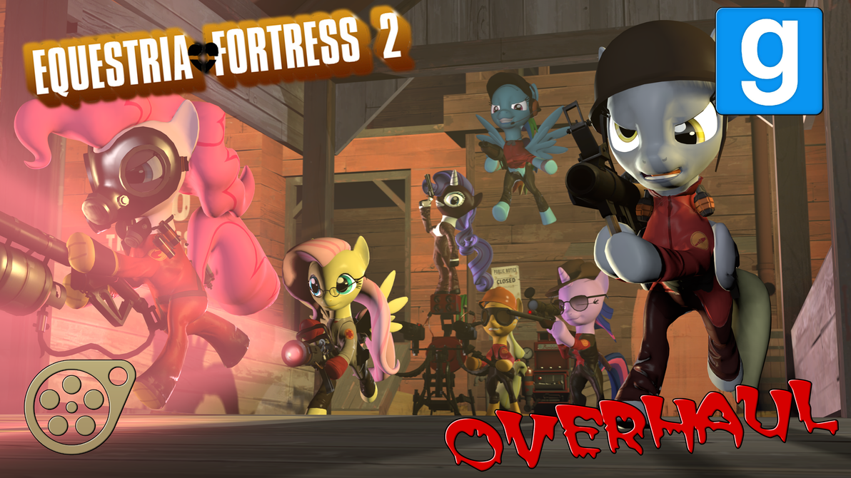 Equestria Fortress 2 OVERHAUL by Optimus97