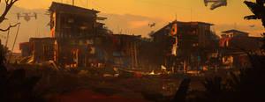 Slum by artroni
