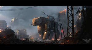 DogWalkers | Concept art by artroni
