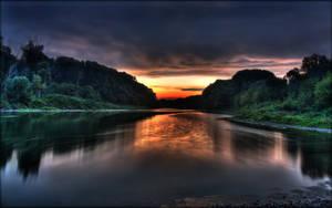 Donau sunrise 2 HDR by tienod