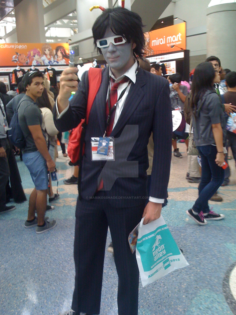 Anime Expo Day2 Doctor Who Troll By MarikosShade