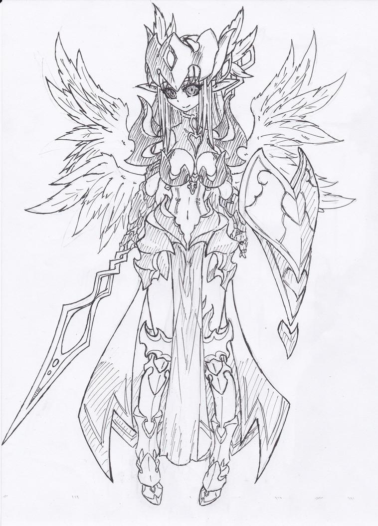 Dark Valkyrie by Graydrone
