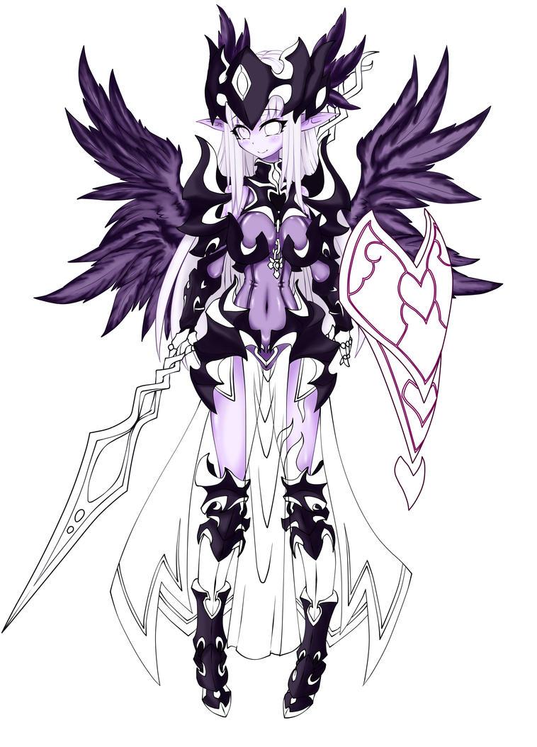 Dark Valkyrie1 by Graydrone
