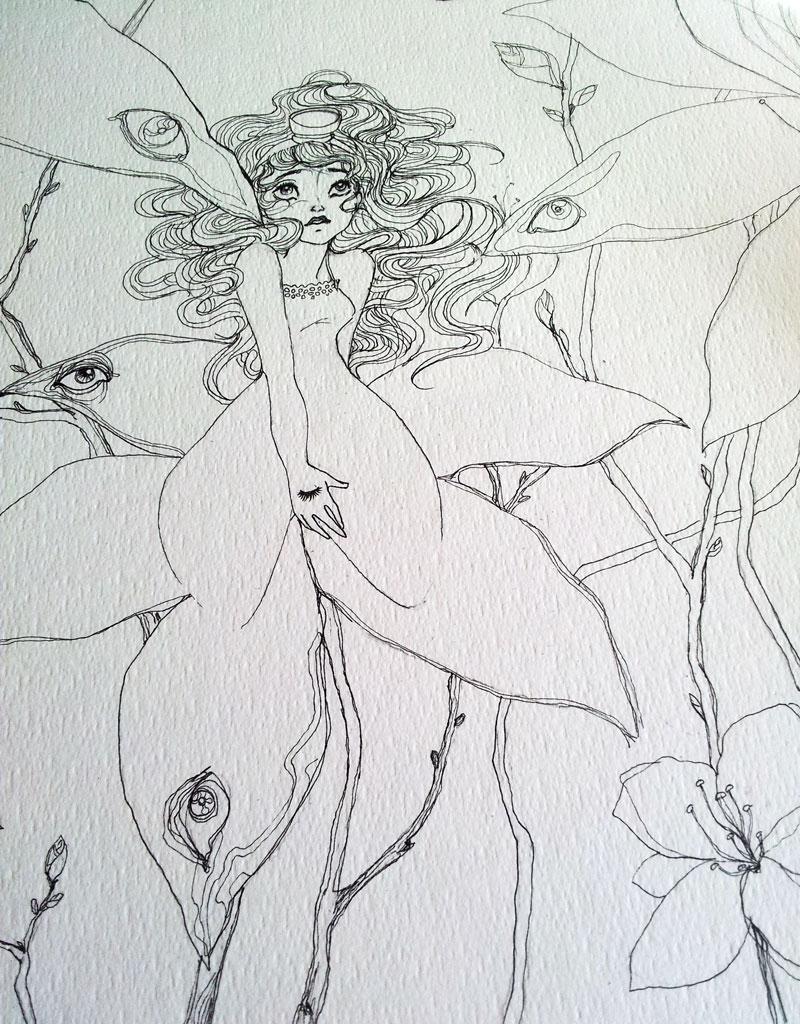in progress by yara001