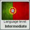 Portuguese level - Intermediate by InPBo