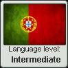 Portuguese level - Intermediate by InPBo