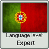 Portuguese level - Expert by InPBo