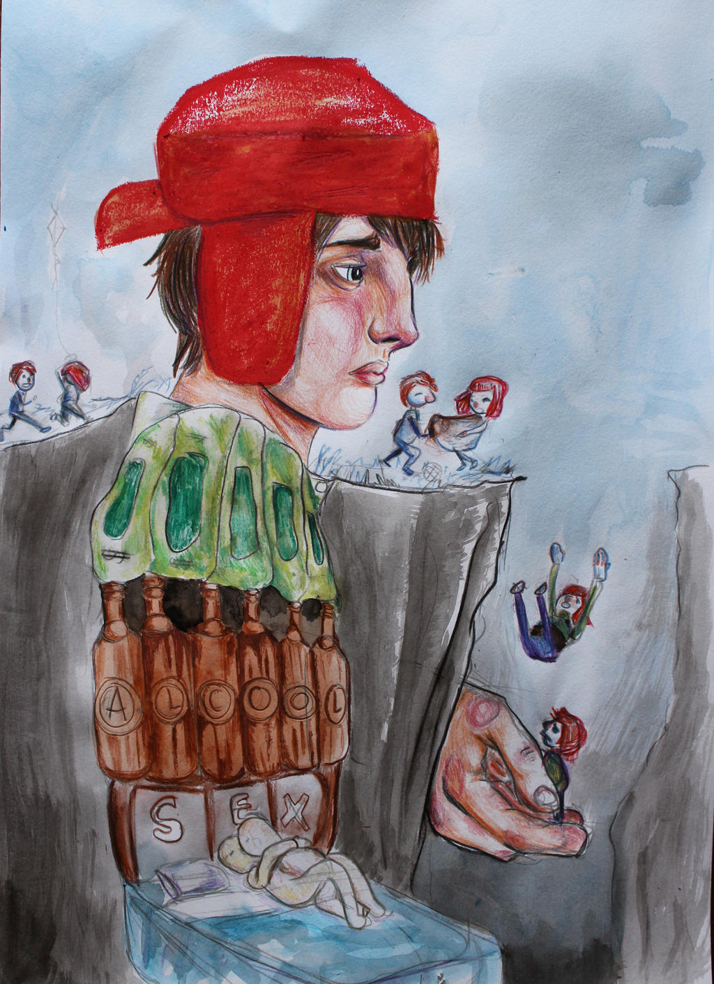 the symbolism in the character of holden caulfield in the catcher in the rye The catcher in the rye, by jd salinger, is a display of characters and incidents portrayed through the eyes of an adolscent holden caulfield, the main.