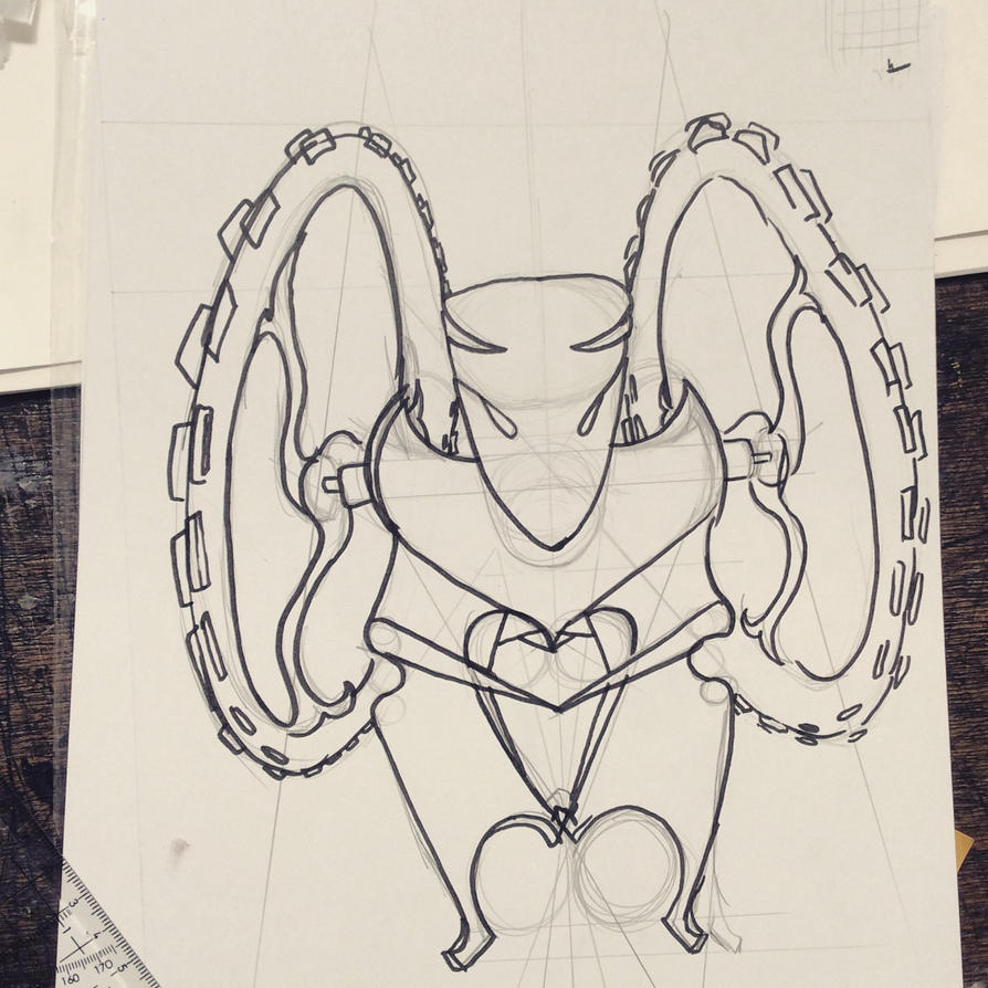 Robot through simetry by InPBo