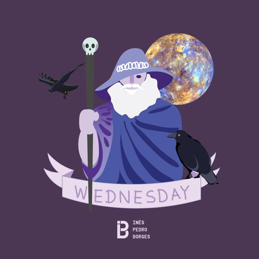 Wednesday - Odin's Day by InPBo