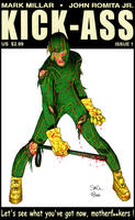 Kick Ass Issue 1 McNiven Cover by Davoe