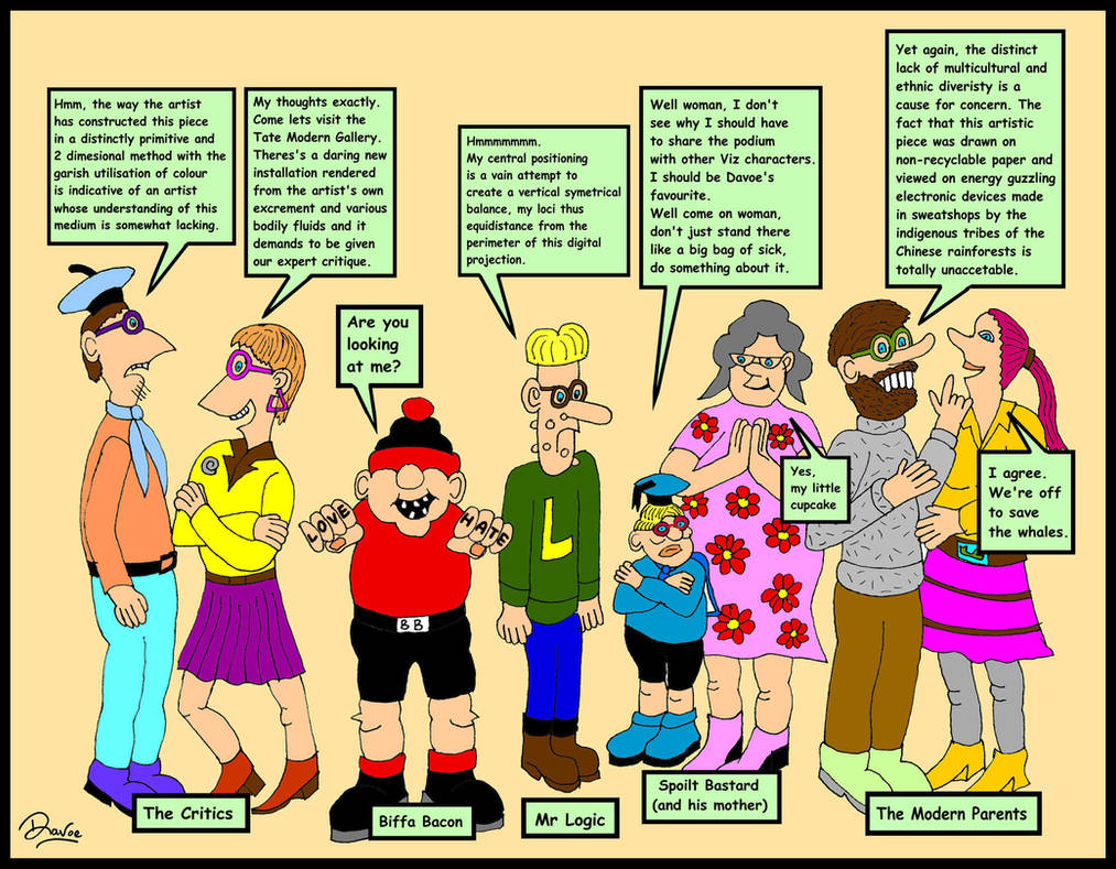Viz Comic: My top 5 characters by Davoe
