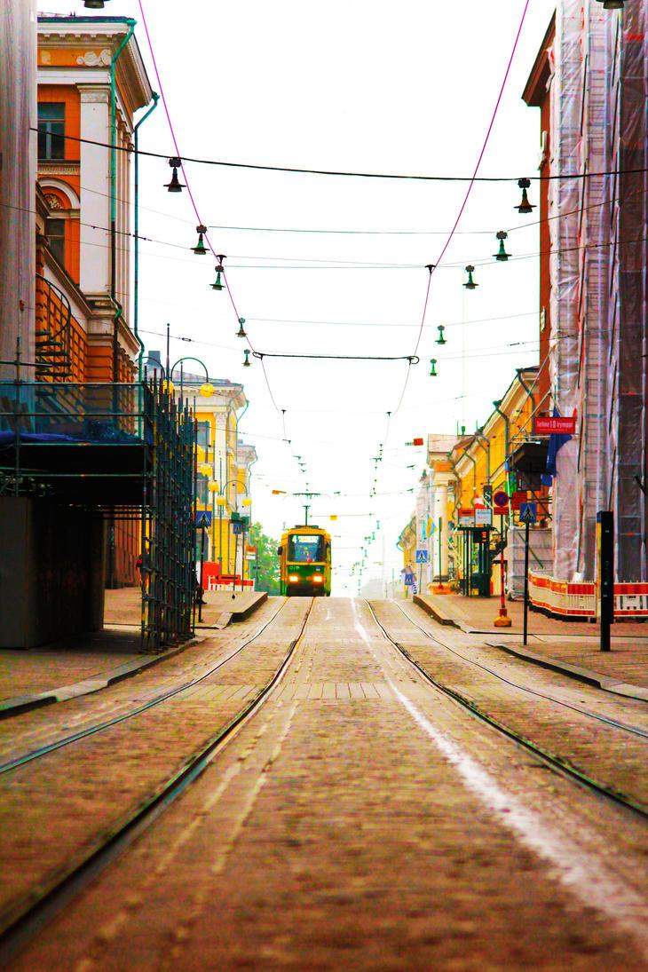 Streets Of Suomi by TheIslandOfFiji