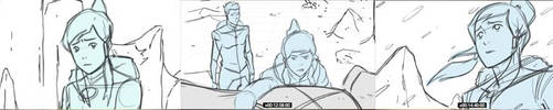 Legend of Korra StoryBoard by D-Scythe911