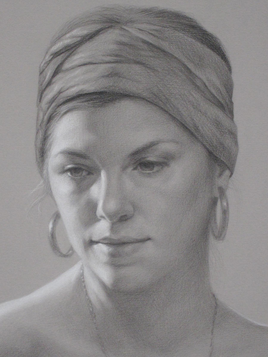 Study of Amy (detail) by briannatron87