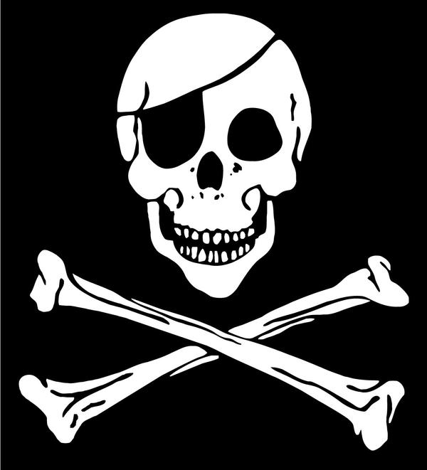 Pirate flag by mudisoft.