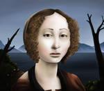 Ginerva - Digital Painting by AaronRutten